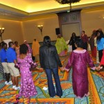 Participants enjoyed a game session anchored by the Atlantis Team