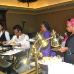 Participants were treated to mouth watering delicacies from the Atlantis Kitchen