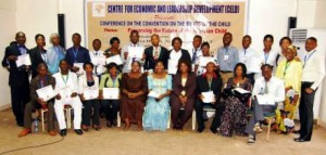 On August 31, 2010, CELD Successfully held it's 1st National Conference on the Convention of the Rights of the Child at the Protea Hotels, Asokoro, Abuja