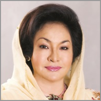 Her Excellency DATIN PADUKA SERI ROSMAH MANSOR Wife of the Prime Minister of Malaysia