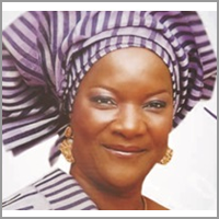 Her Excellency MRS. NGO TALATU JANG Former First Lady of Plateau State, Nigeria